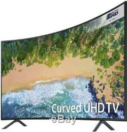 Samsung Nu7300 Smart Hd Incurvé Certifié Ultra Hd Courbé De 55 Pouces Auto Motion Plus