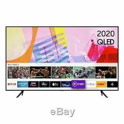 Samsung Qe43q60t 43 Pouces 4k Ultra Hd Hdr Intelligent Wifi Qled Tv Noir
