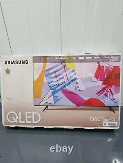 Samsung Qe43q60t 43 Pouces Qled 4k Ultra Hd Hdr Smart Television