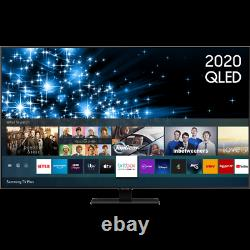 Samsung Qe55q80ta Q80t 55 Pouces Smart 4k Ultra Hd Qled Freeview Hd Et Freesat