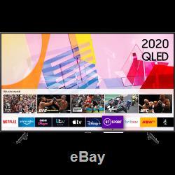 Samsung Qe65q60ta Q60t 65 Pouces Intelligent 4k Ultra Hd Qled Tnt Hd Et Freesat