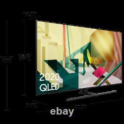 Samsung Qe65q70ta Q70t 65 Pouces Smart 4k Ultra Hd Qled Freeview Hd Et Freesat