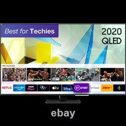 Samsung Qe65q80ta Q80t 65 Pouces Intelligent 4k Ultra Hd Qled Tnt Hd Et Freesat