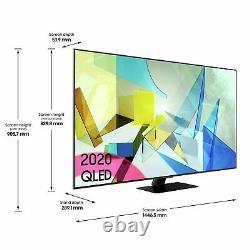 Samsung Qe65q80tatxxu 65 Pouces 4k Ultra Hd Smart Wifi Qled Tv Noir