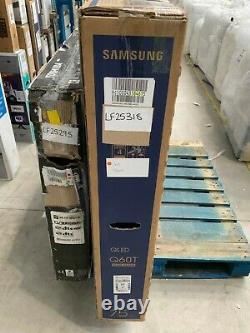 Samsung Qe75q60ta Q60t 75 Pouces Smart 4k Ultra Hd Qled Freeview Hd #lf25318