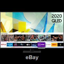 Samsung Qe75q80ta Q80t 75 Pouces Intelligent 4k Ultra Hd Qled Tnt Hd Et Freesat