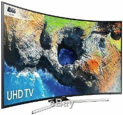 Samsung Série 6 Ue49mu6220k Téléviseur À Led 4k Ultra Hd Hdr Courbé De 49 Pouces, Noir