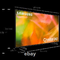 Samsung Ue43au8000 Série 8 43 Pouces Tv Smart 4k Ultra Hd Led Tv Plus Bluetooth