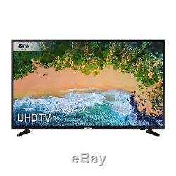 Samsung Ue43nu7020 Téléviseur À Led Ultra Hd 4k 4 Pouces, Noir Avec 2x Hdmi