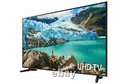 Samsung Ue43ru7020 43 Pouces 4k Ultra Hd Hdr Smart Wifi Tv Led Noir