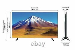 Samsung Ue43tu7020kxxu 43 Inch 4k Ultra Smart, No Stand Collection Uniquement Uns