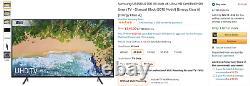Samsung Ue49nu7100 49-inch 4k Ultra Hd Certifié Hdr Smart Tv Noir