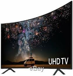 Samsung Ue49ru7300kxxu 49 Pouces 4k Ultra Hd Hdr Intelligent Wifi Led Tv Courbe Noire