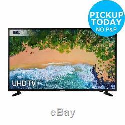 Samsung Ue50nu7020 Téléviseur À Led Wifi Intelligent Hdr 4 Pouces Ultra Hd 4k