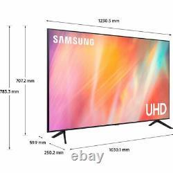 Samsung Ue55au7100 Série 7 55 Pouces Tv Smart 4k Ultra Hd Led Analogique Et Numérique