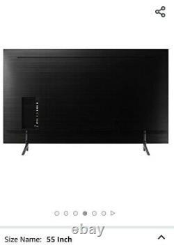 Samsung Ue55nu7100 55-inch 4k Ultra Hd Certifié Hdr Smart Tv Charcoal Noir