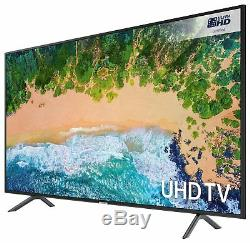 Samsung Ue55nu7100kxxu 55 Pouces 4k Ultra Hd Hdr Led Smart Tv Noir