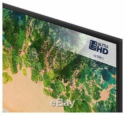 Samsung Ue55nu7100kxxu Téléviseur Del Intelligent Hdr 55 Pouces 4k Ultra Hd, Noir