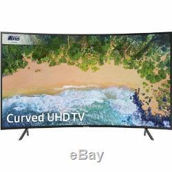 Samsung Ue55nu7300 Nu7000 4k Ultra Hd Courbé De 55 Pouces Un Téléviseur Del Intelligent 3 Hdmi