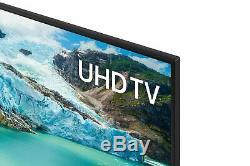 Samsung Ue55ru7020 55 Pouces 4k Ultra Hd Hdr Intelligent Wifi Tv Led Noir