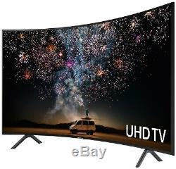 Samsung Ue55ru7300kxxu Téléviseur À Led Smart Wifi Hdr Incurvée De 55 Po, Ultra Hd
