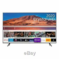 Samsung Ue55tu7100 55 Pouces 4k Ultra Hd Hdr Intelligent Wifi Tv Led Carbon Argent