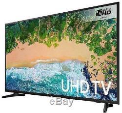 Samsung Ue65nu7020 Téléviseur Smart Hd 4k Hdr Ultra Hd Certifié Auto Motion Plus