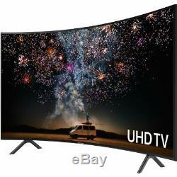 Samsung Ue65ru7300 Ru7300 Téléviseur 65 Pouces Courbé Smart 4k Ultra Hd Led Freeview Hd 3