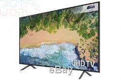 Samsung Ue75nu7100 Téléviseur Intelligent Hdr Certifiée Hd Ultra 4k De 75 Pouces, Modèle 2018