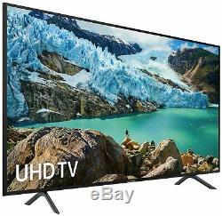 Samsung Ue75ru7100kxxu Téléviseur À Del Smart Wifi Ultra-hdr De 75 Pouces 4k, Noir