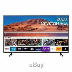 Samsung Ue75tu7000 (2020) Hdr 4k Ultra Hd Smart Tv 75 Pouces Tvplus Noir