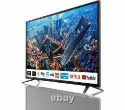 Sharp 50 Pouces Smart 4k Ultra Hd Hdr Tv Led Avec Freeview Play Netflix Hdmi