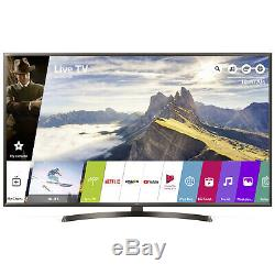 Smart Tv Led Lg 65uk6400plf Téléviseur Internet Wi-fi Plat Hdr 65 Pouces Ultra Hd 4k