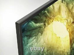Sony 43 Pouces Kd43x7052pbu Smart 4k Ultra Hd Hdr Wifi Freeview Hd Smart LCD Tv