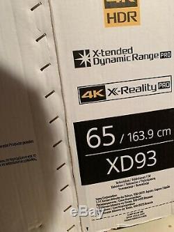 Sony 65xd9305 65 Pouces 4k Uhd Ultra Hd 3d Smart Tv