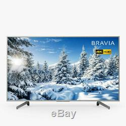 Sony Bravia 65 Pouces Kd65xg7073 Intelligent 4k Ultra Hd Hdr Led Tv Argent