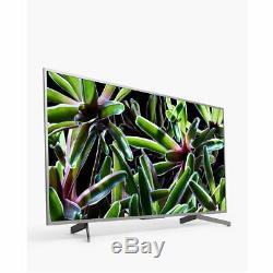 Sony Bravia 65 Pouces Kd65xg7073 Intelligent 4k Ultra Hd Hdr Tv Led Argent Une Année
