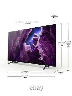 Sony Bravia Kd65a8 (2020) Oled Hdr 4k Ultra Hd Smart Android Tv, 65 Pouces Avec Fr