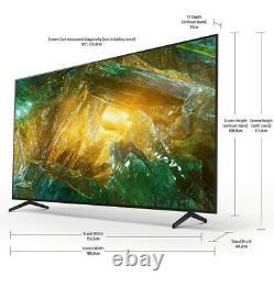Sony Haute Qualité Kd85xh8096bu Bravia 85 Pouces Tv Smart 4k Ultra Hd Led Noir