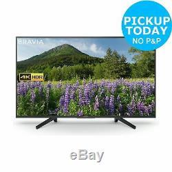 Sony Kd49xf7003bu Téléviseur À Led Wifi Intelligent Hdr 49 Pouces 4k Ultra Hd, Noir