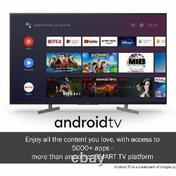 Sony Kd49xh8196bu Bravia Xh81 49 Pouces Tv Smart 4k Ultra Hd Led Freeview Hd 4
