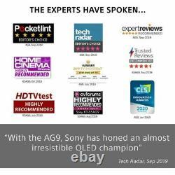 Sony Kd55ag9bu 55 Pouces Tv Smart 4k Ultra Hd Oled Analogique Et Numérique Dolby Vision