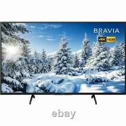 Sony Kd55x7052pbu Bravia X70 55 Pouces Tv Smart 4k Ultra Hd Led Freeview Hd 3