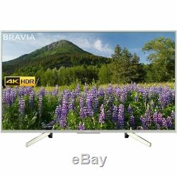 Sony Kd55xf7073su Bravia Xf70 Xf70 Téléviseur 4k Ultra Hd Une Télé Led Intelligente 3 Hdmi