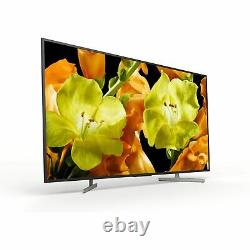 Sony Kd55xg8196bu 55 Pouces 4k Ultra Hd Hdr Smart Wifi Led Tv Noir