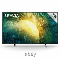 Sony Kd65x7052pbu Bravia X70 65 Pouces Tv Smart 4k Ultra Hd Led Freeview Hd 3