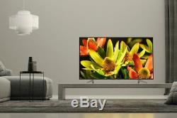 Sony Kd70xf8305bu Téléviseur À Led Wifi Intelligent Hdr 70 Pouces 4k Ultra Hd, Noir