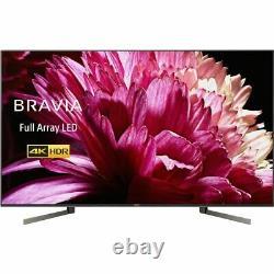 Sony Kd75xg9505bu 75 Pouces Smart Tv 4k Ultra Hd Led Tnt Hd 4 Hdmi Dolby