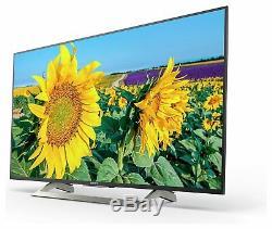 Sony Téléviseur À Del Smart Wifi Bravia Kd43xf8096 43 Pouces 4k Ultra Hd Hdr 400hz Noir
