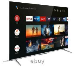 Tcl 43p715k 43 Inch Ultra Slim 4k Hdr Smart Android Tv Wi-fi & Garantie De 2 Ans
